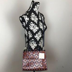 Kate Spade Sam Floral Spade Medium Satchel Bag NWT
